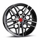 Borbet GTY Black Rim Polished Glossy