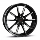 Borbet LX Felge Black Matt Spoke Rim Polished
