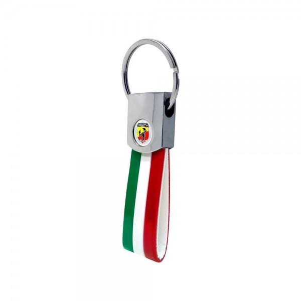 ABARTH Schlüsselanhänger Tricolore
