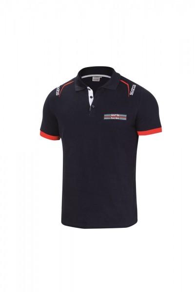 MARTINI RACING - SPARCO Poloshirt 100% Baumwolle