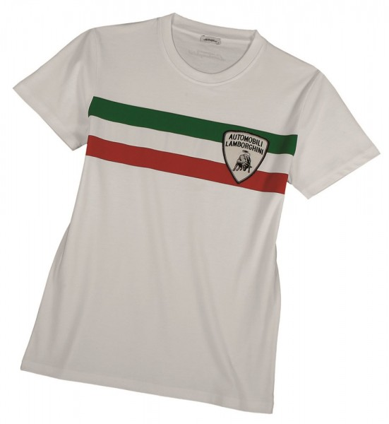LAMBORGHINI Italian Flag Men's T-Shirt