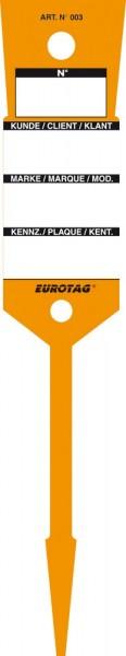 EUROTAG Schlüssel-Etiketten ORANGE